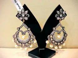 Women Danglers Dangler Earrings Party Wear