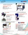 Blu Semi Automatic Non-woven Bag Making Machine