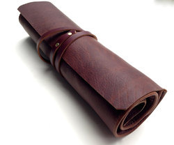 Handmade Leather Rolling Journal