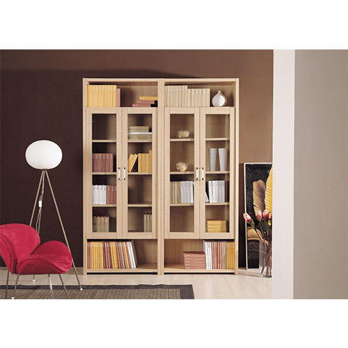 Brown Book Cabinet