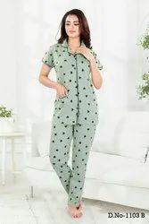 Full Length Hosiery Ladies Designer Nighties