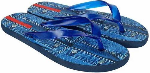 1316fbe2c7ec Rubber Blue Tapps Flip Fop Slippers
