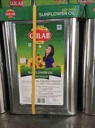 Gulab Sunflower Oil 15 Ltr
