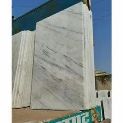 Polished Finish White Texture Marble Slab, Thickness: 10-15 mm