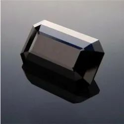 Black Onyx Faceted Octagon Gemstone
