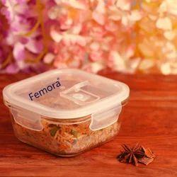 300ml Femora Borosilicate Glass Container