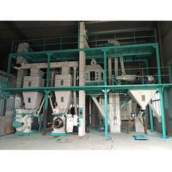 Fully Automatic Cattle Feed Machine