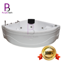 Lucian Jacuzzi Massage Corner Bathtub