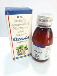 Paracetamol Phenylephrine HCl and Chlorpheniramine Maleate