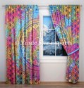 Indian Mandala Curtains Decorative Door Drapes