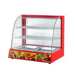 Lovely Glass Food Display Cabinet