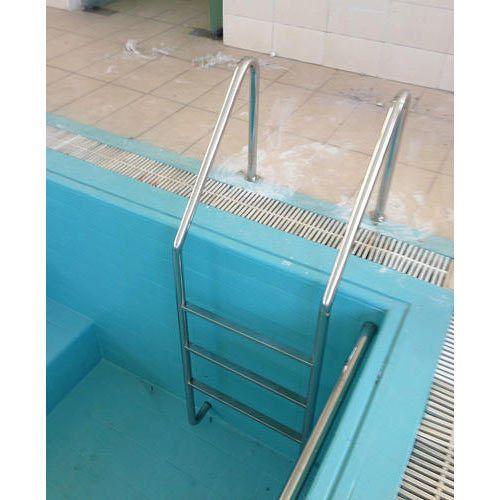 Three Tread Ss Swimming Pool Ladder