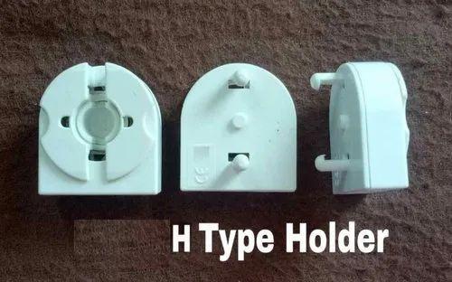 4 Twist /& Lock Fluorescent T5 Tube Bulb Socket Lampholder w//Mounting Holes