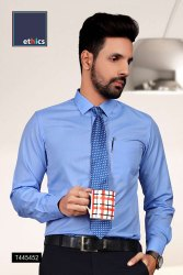 Blue Color Mens Uniform Shirt for Hospital Staff T-445452
