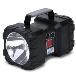 Realbuy LED Search Light 10W With LiFePO4 Battery - Multi Functional Rechargeable Portable Light