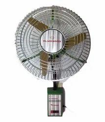 Green Almonard 24-Inch Air Circulator Wall Fan, Warranty: 1 Year