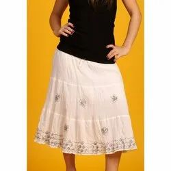Wrinkle Cotton Skirts