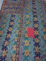 Multicolor Floral Print Vintage Kantha Quilt