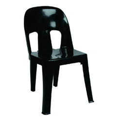 Plastic Black Chairs