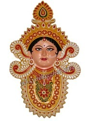 Goddess Durga-A Beautiful Wall Hanging