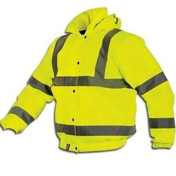 Unisex Polyester High Visibility Safety Jacket