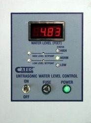 Ultrasonic Liquid Level Controller Measurement Control Display