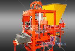 Block Machine without  conveyor