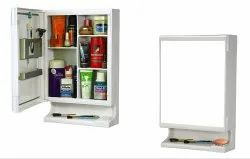 Parasnath Strong and Heavy New Look Bathroom Cabinet with Cabinet with Mirror
