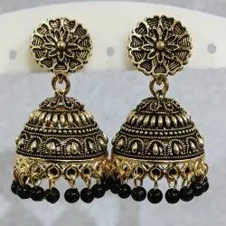 Silver Plated and Gold Plated Jhumka