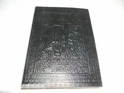 Elephant Embossed Handmade Leather Diary