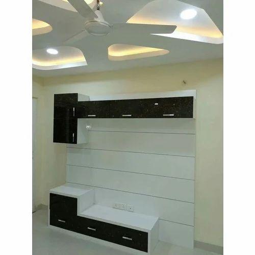 Tv Unit Design At Rs 1500 Square Feet Television Unit Tv Console ट व य न ट Famous Furniture Interior Contractor Pune Id 18116818055