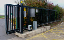 JM Entrance Motorized Sliding Gate