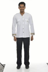 Commercial Driver White Uniform