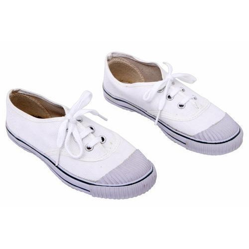 Ortho + Rest White Tennis School Shoes