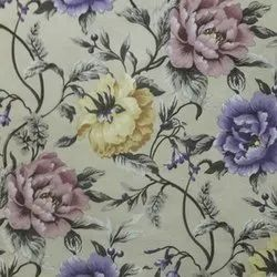 Multicolor Cotton Floral Printed Curtain Fabric, GSM: 150-200