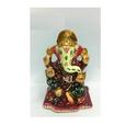 Meenakari Chowki Ganesha Statues