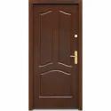 Brown Three Panel Membrane Door