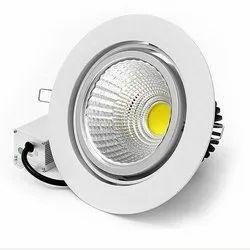 4W Round LED COB Light, Ip 20