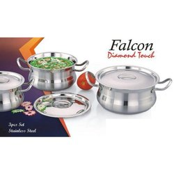 Falcon Diamond Touch SS Handi Set