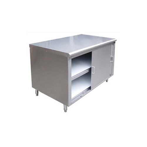 Stainless Steel Cabinet Work Table With