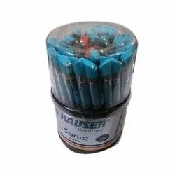 Hauser Plastic Ball Pen, Packaging Type: Box