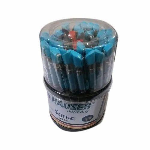 Hauser Plastic Ball Pen, Packaging Type: Box