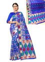 Meenakari Work Banarasi Silk Fancy Sarees
