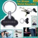 Car Shape Metal Keychain H-527