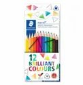 Multicolor Staedtler Ergosoft 157 Triangular Coloured Pencil