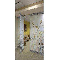 Designer Glass Partition Installation Service