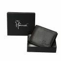 LWFM00145 Black Mens Leather Wallet
