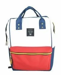 Blue and White Fancy Girls Backpack