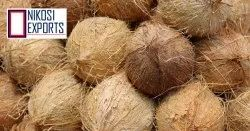 Nikosi Pollachi Raw Coconut, Packaging Size: 20 Kg, Size Available: Medium