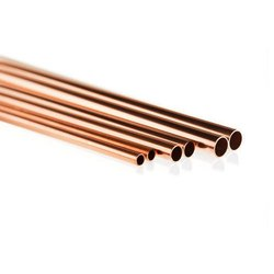 Round Coil Copper Gas Pipe, Size: 1/2 to 4 Inch